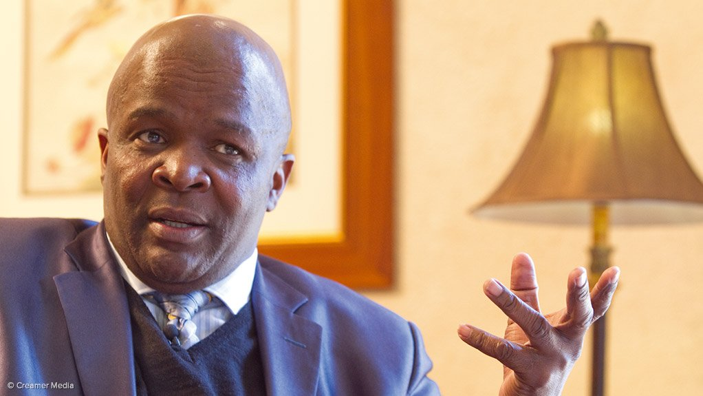 South African Minister in the Presidency Mondli Gungubele