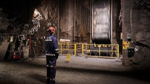 ABB hoisting system 740 m underground at LKAB's Kiruna mine in Sweden. Photograph courtesy of LKAB and Peter Ylivainio