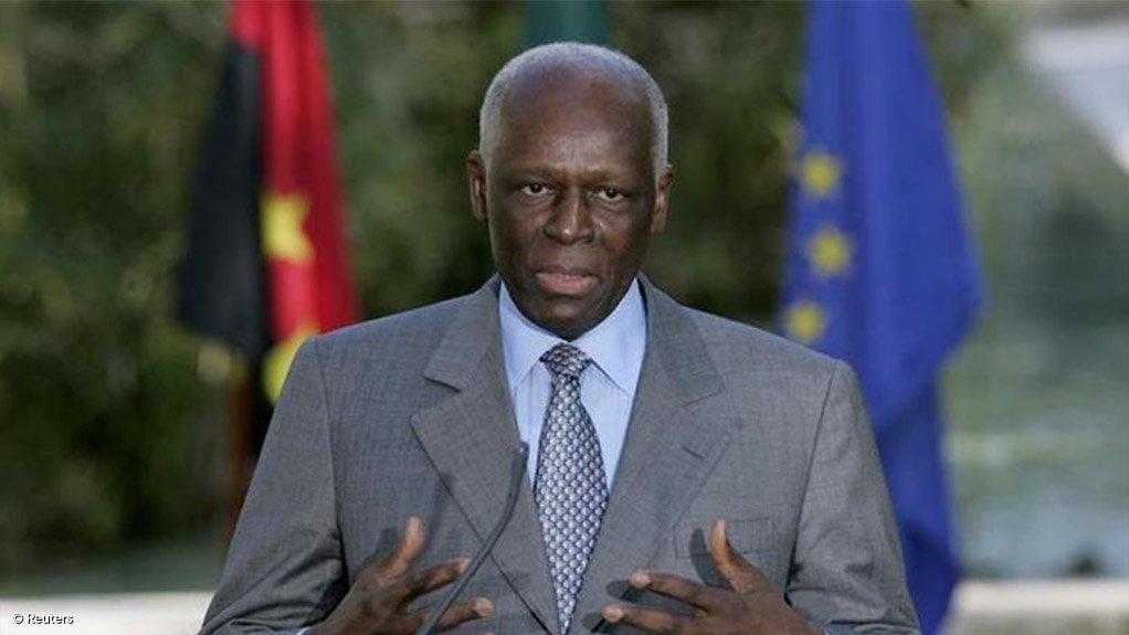 Former Angolan President Jose Eduardo Dos Santos