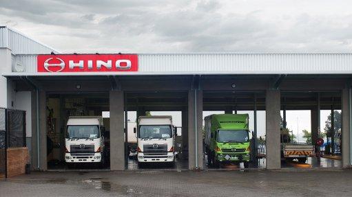 Image of a Hino dealership