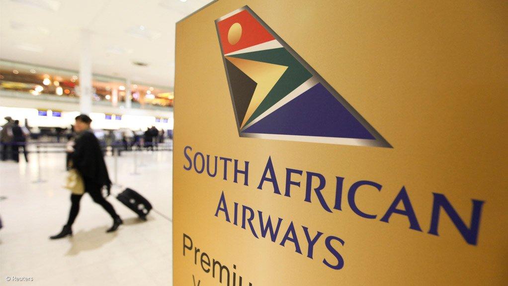 A photo of SAA's logo