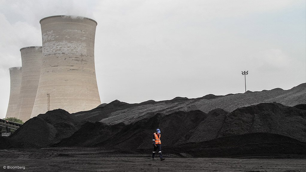 A photo of a coal-fired power station