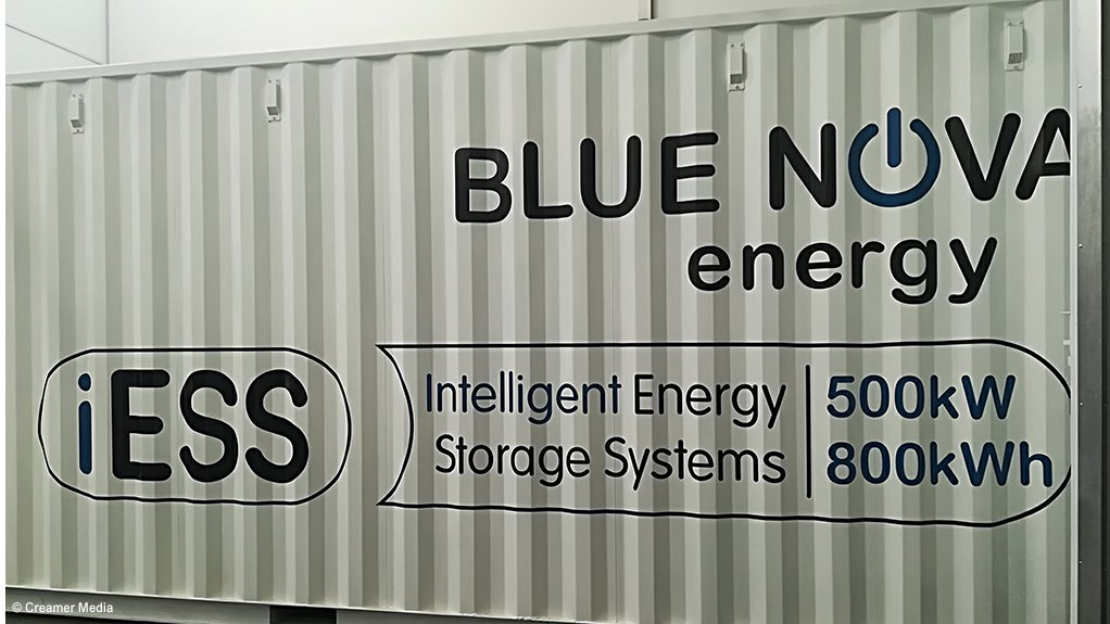 A photo of a BlueNova iESS system