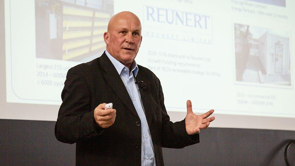 A photo of James Verster, BlueNova CEO