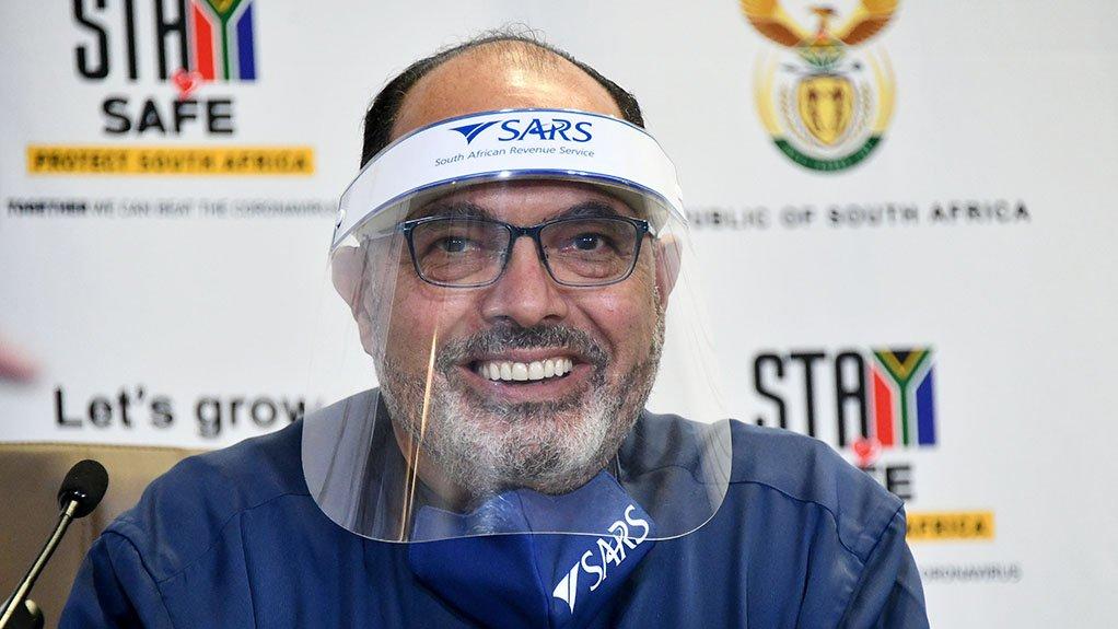 Image of SARS Commissioner Edward Kieswetter
