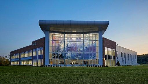Artist impression of the Purdue Technology Center Aerospace