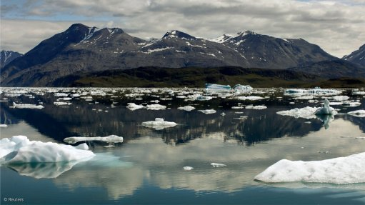 An image of Greenland scenery
