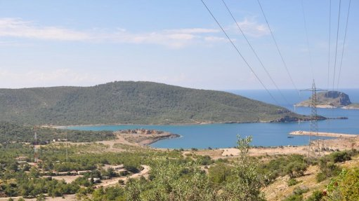 Image of the site of the Akkuyu nuclear power plant in turkey