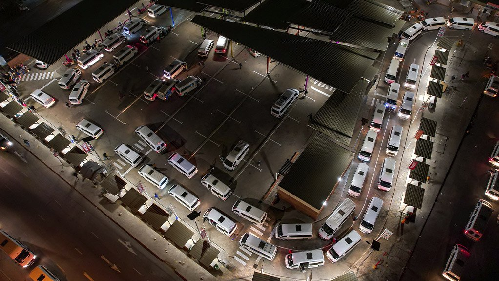 Complete LED lighting solution for Polokwane Taxi Ranks