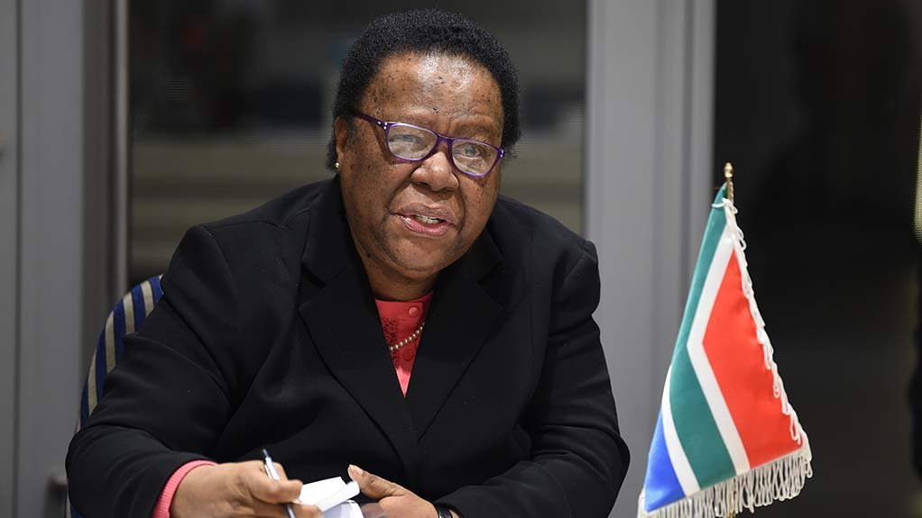 Image of Minister of International Relations and Cooperation Dr Naledi Pandor