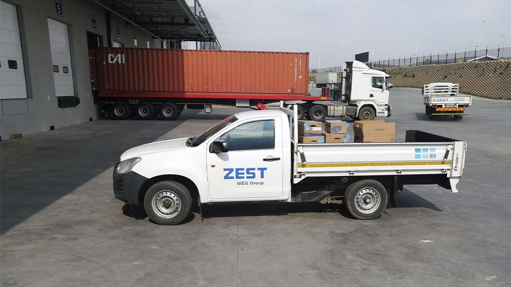 Zest WEG will deliver good ordered online via the new E-Commerce facility.