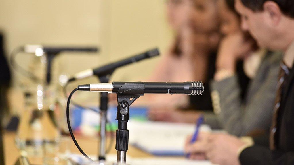 Image showing Tribunal sitting