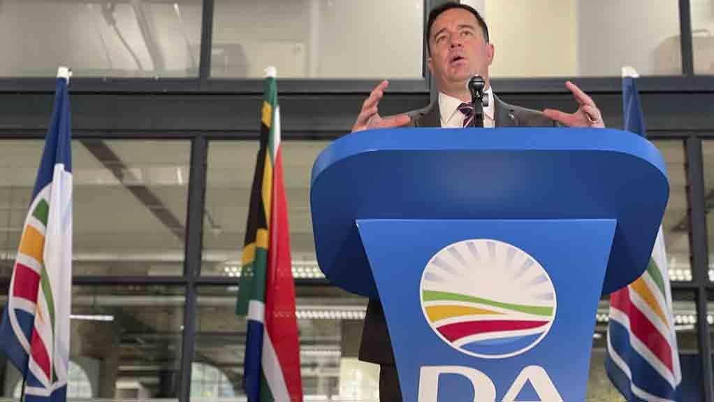 Image of DA leader John Steenhuisen