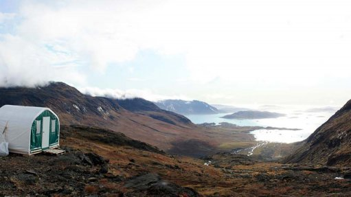 An image showing an exploration site in Greenland.