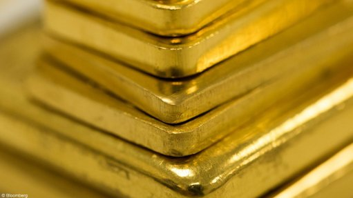 An image of gold bars