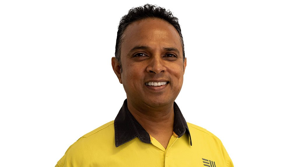 Image shows newly appointed COO Noel Pillay