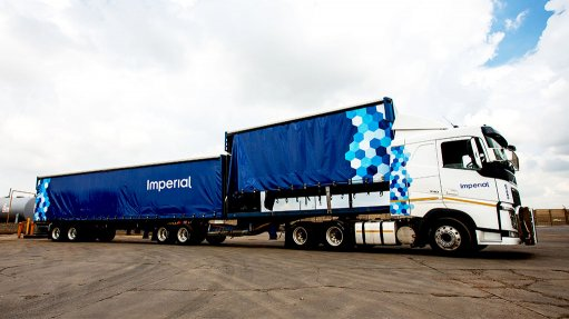 Photo of an Imperial Logistics truck