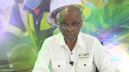 Screenshot of Exxaro CEO Mxolisi Mgojo