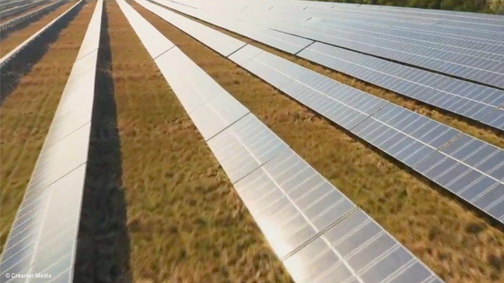 Screenshot of Cennergi solar panels