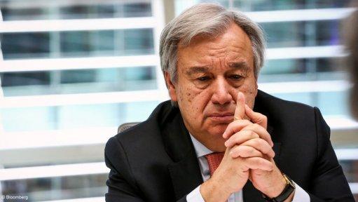 An image of Antonio Guterres