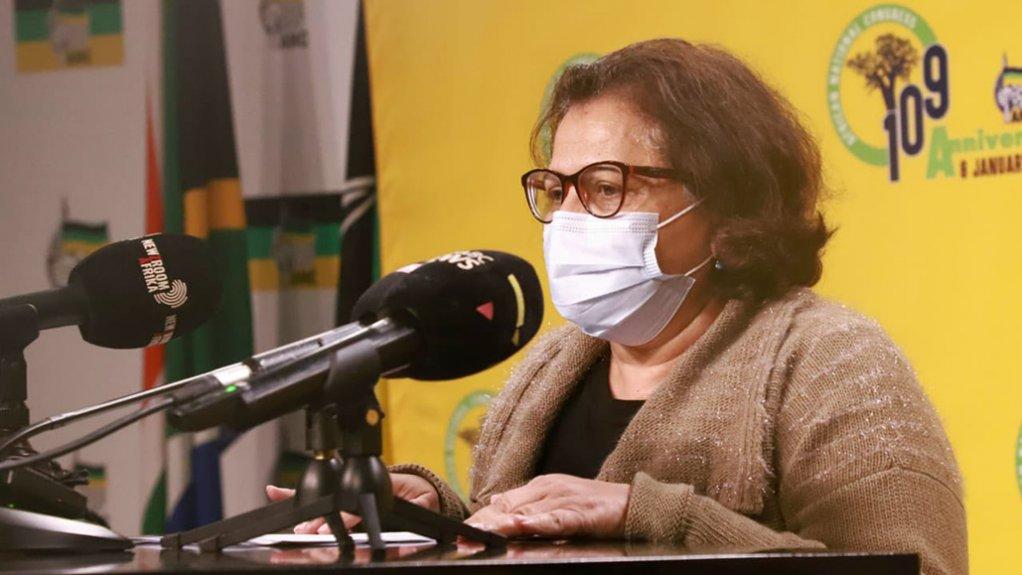 Image of ANC Deputy Secretary-General Jessie Duarte