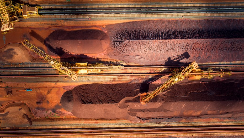 Iron-ore storms past $100 as China soothes Evergrande concerns