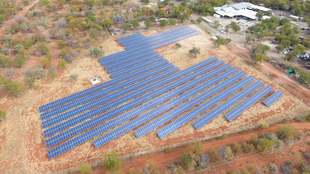 Pic/Image of Exxaro's Tshikondeni Microgrid