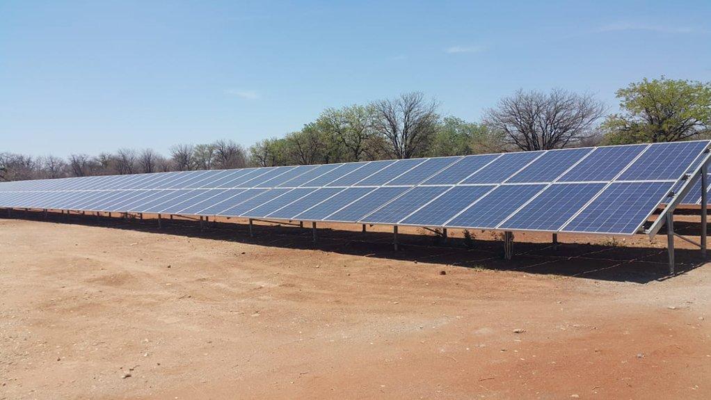 Pic/Image Close up of Exxaro's Tshikondeni Microgrid