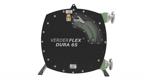 Verderflex Dura 65 pump against a white background