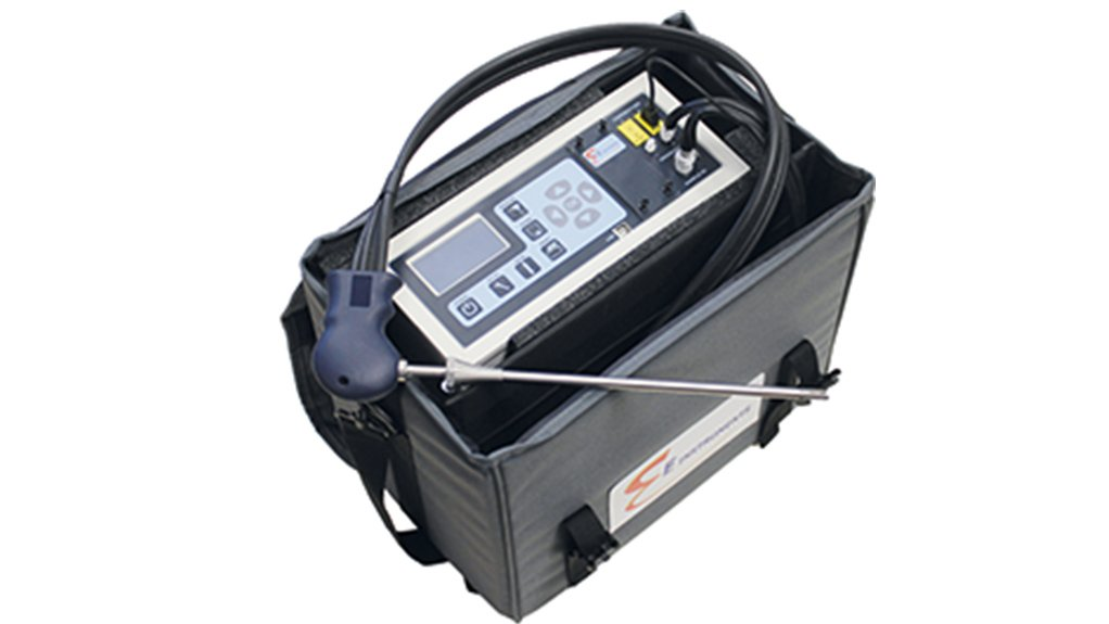 the E8500 Plus portable emissions analyser