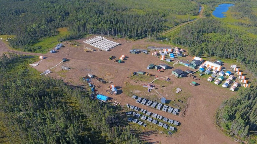 An image of the Noront exploration camp.