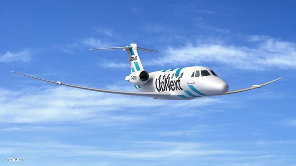 Artist's impression of the Citation VII fitted with the extra-performing wing