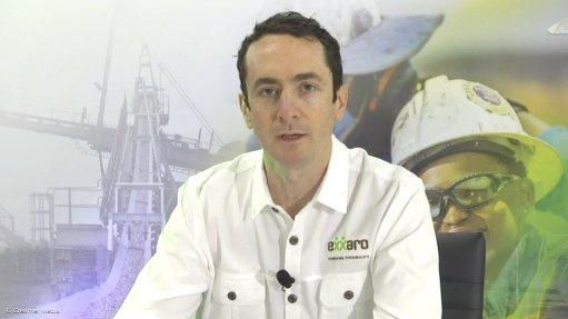 Creamer Media screenshot taken during Capital Markets Day in 2021