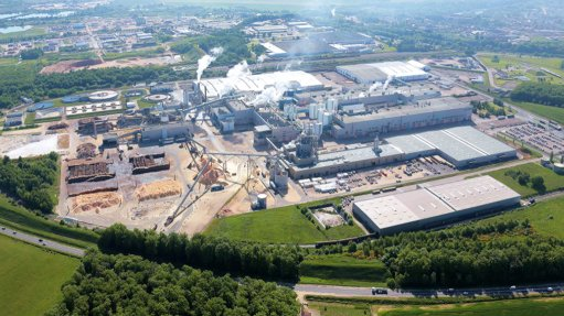 Image of the Golbey packaging plant in France