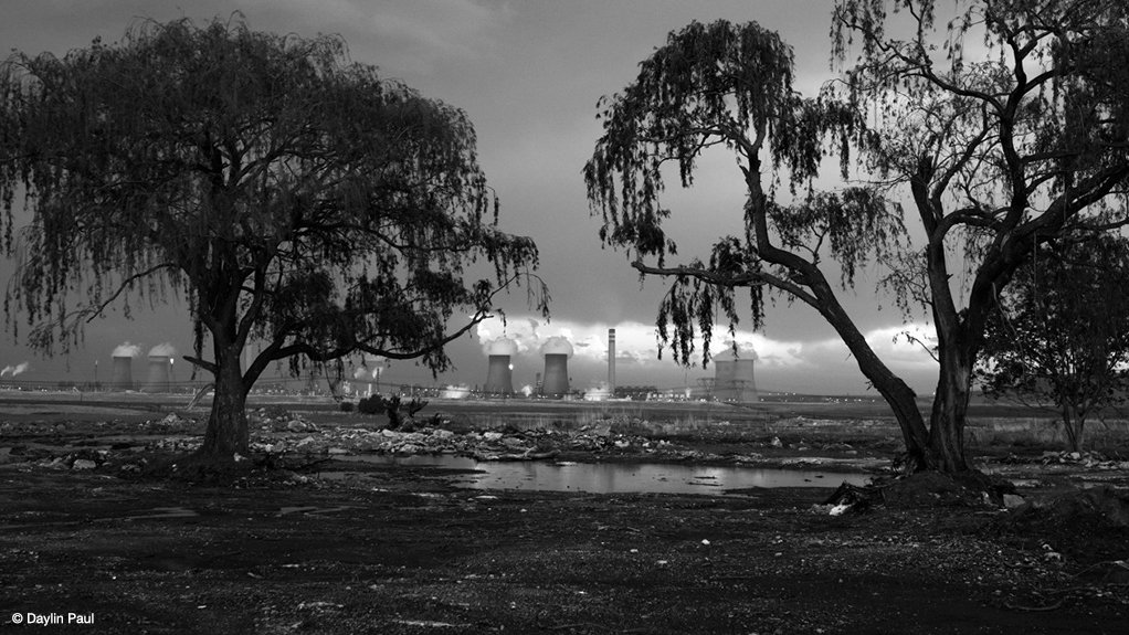 Image from Daylin Paul's photographic book, titled 'Broken Land', a visual narrative of the environmental and social impacts of coal in Mpumalanga