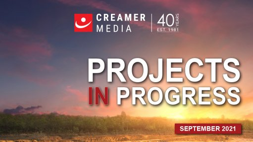 Cover image for Creamer Media's Projects in Progress 2021 (Second Edition)