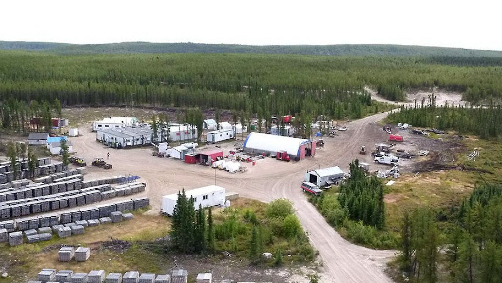 An image of the Wheeler River camp.