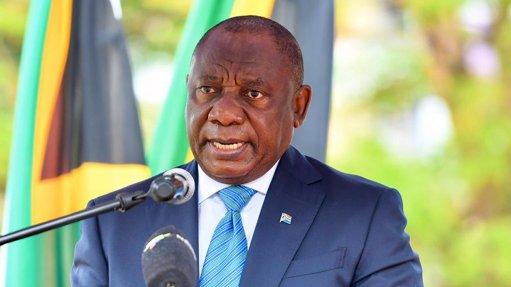 An image of Cyril Ramaphosa