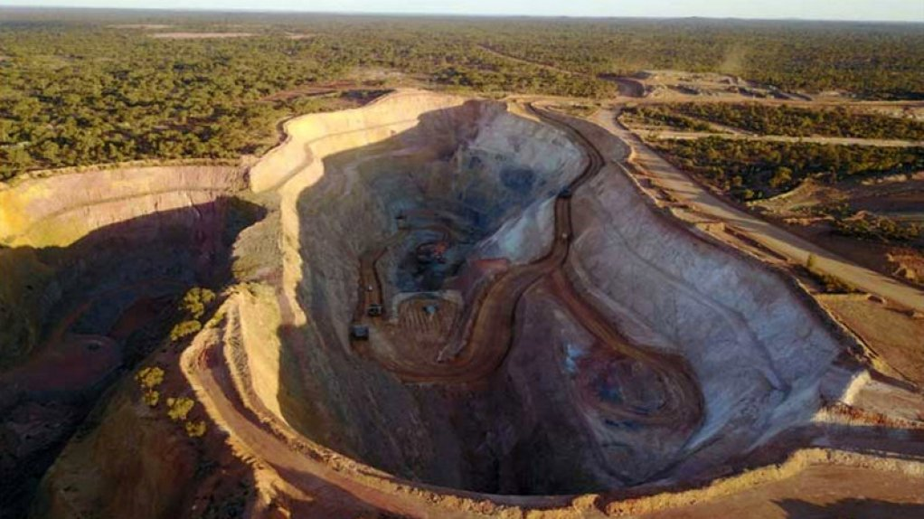 An image of an openpit mine