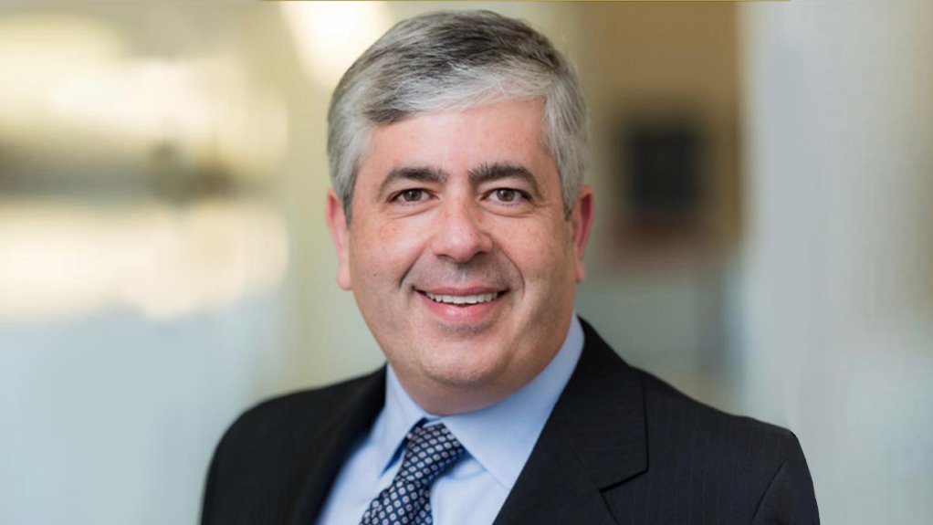 A photo of Marcelo Godoy, who has been appointed AngloGold Ashanti chief technology officer, with effect from November 1.