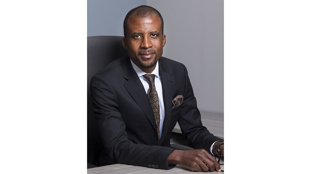 An image of Bushveld Minerals CEO Fortune Mojapelo