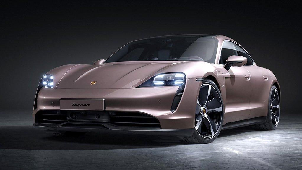 Image of a Porsche Taycan