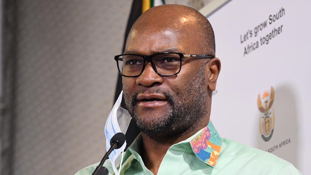 South African Arts and Culture Minister Nathi Mthethwa