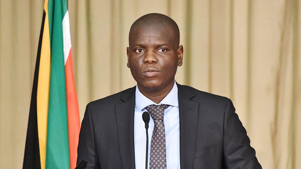 South African Correctional Services Minister Ronald Lamola