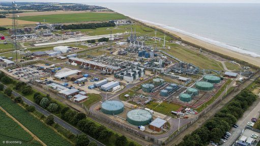 Pictured here is the Bacton Gas Terminal, in Norfolk, which is said to be suited to emerge as a future hydrogen import hub as the UK simultaneously pursues a low-carbon energy transition.