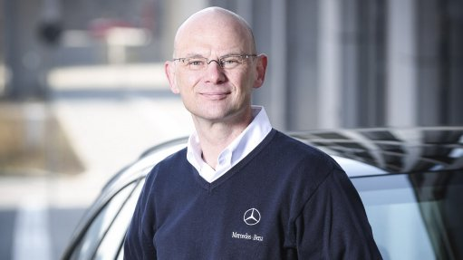 Image of Mercedes-Benz South Africa (MBSA)  CEO and manufacturing executive director designateAndreas Brand