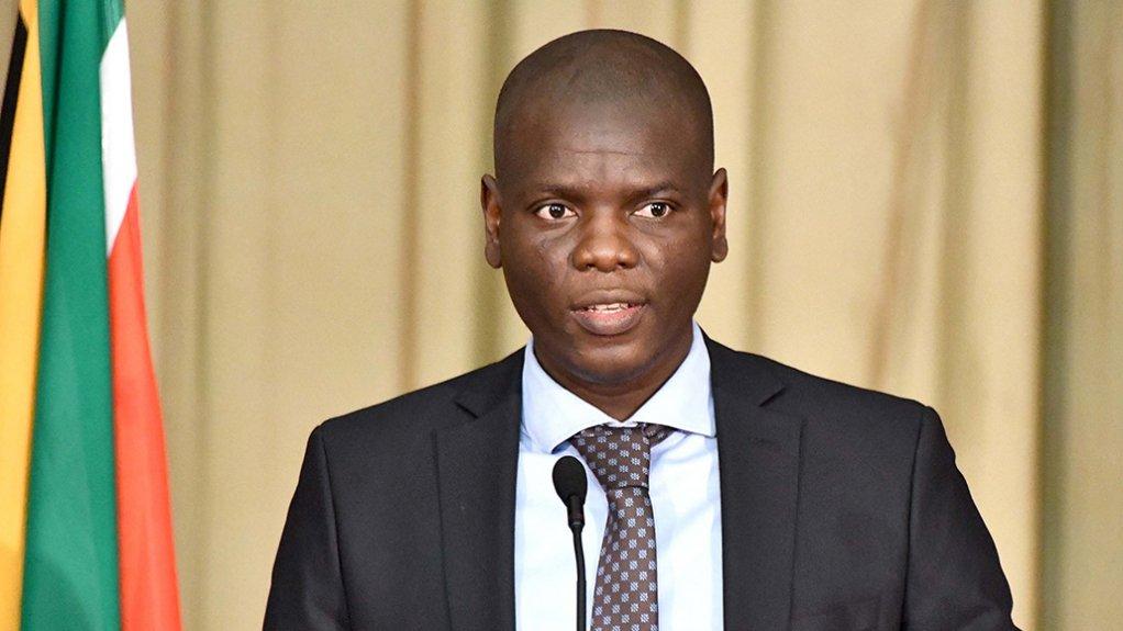 Justice Minister Ronald Lamola