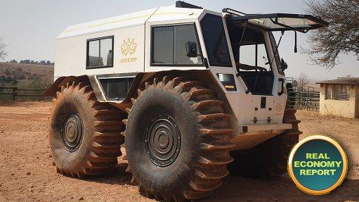 Image of Sherp vehicle