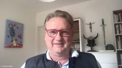 Creamer Media screenshot of Arne Frandsen of Pallinghurst