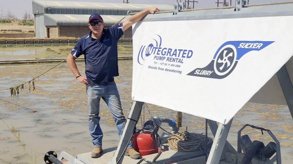 Lee Vine, managing director of Integrated Pump Rental
